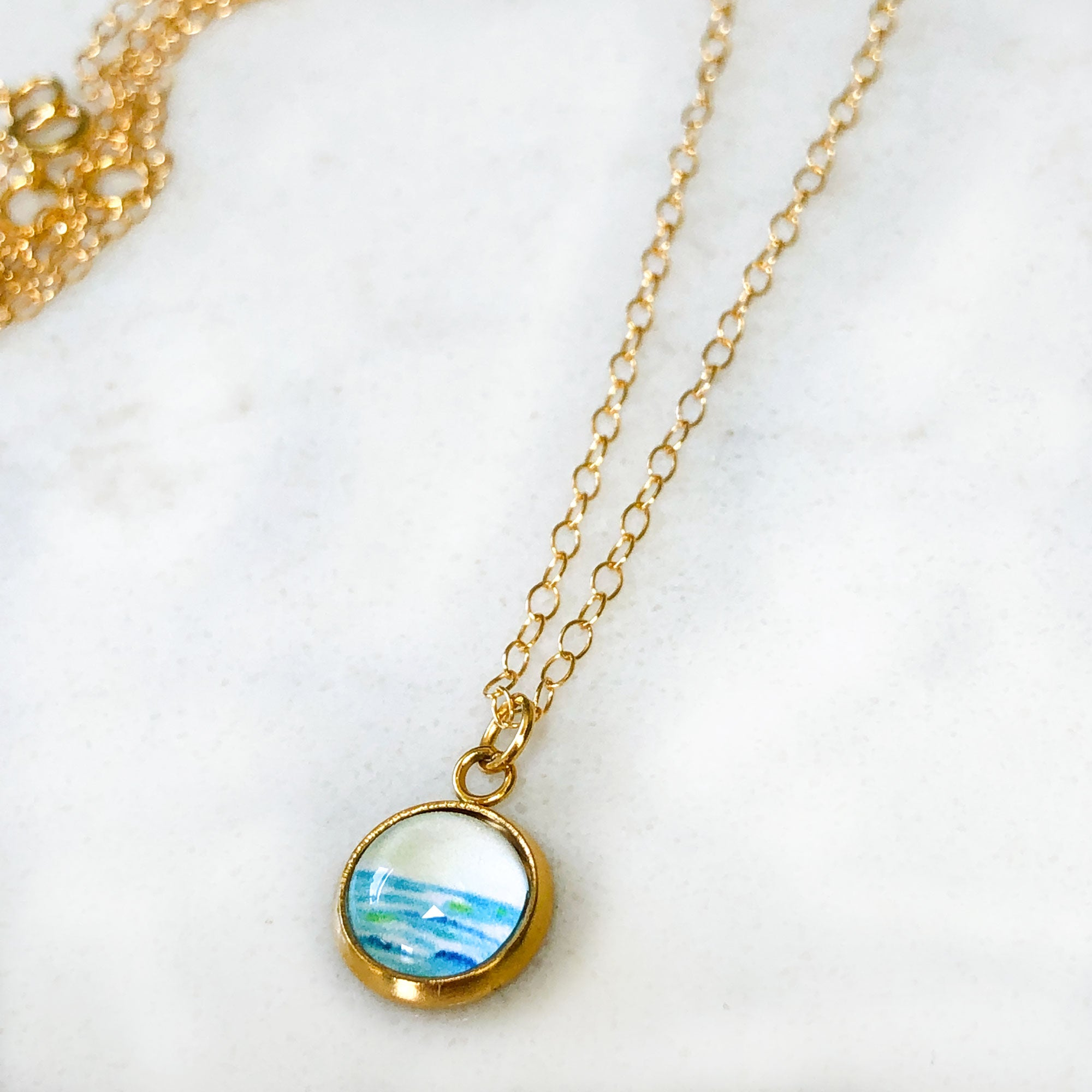 Dainty Necklace - Lovely Beach Day