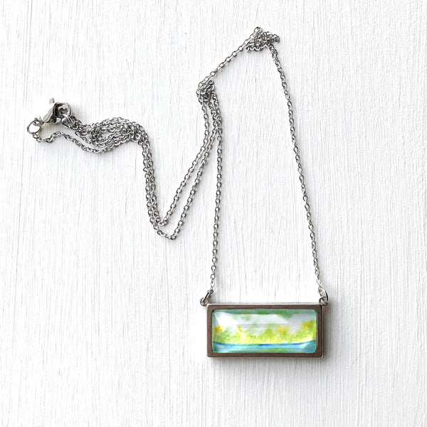 Little Peelers - Bar Necklace