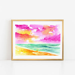 Lively Seascape I