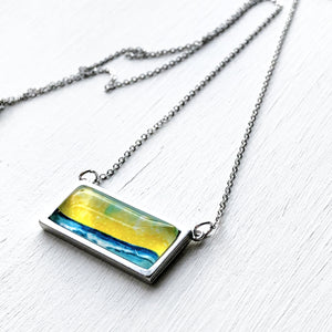 Lovely Beach Day - Bar Necklace