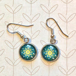 Mandala - Dangle, Stud or Leverback Earrings
