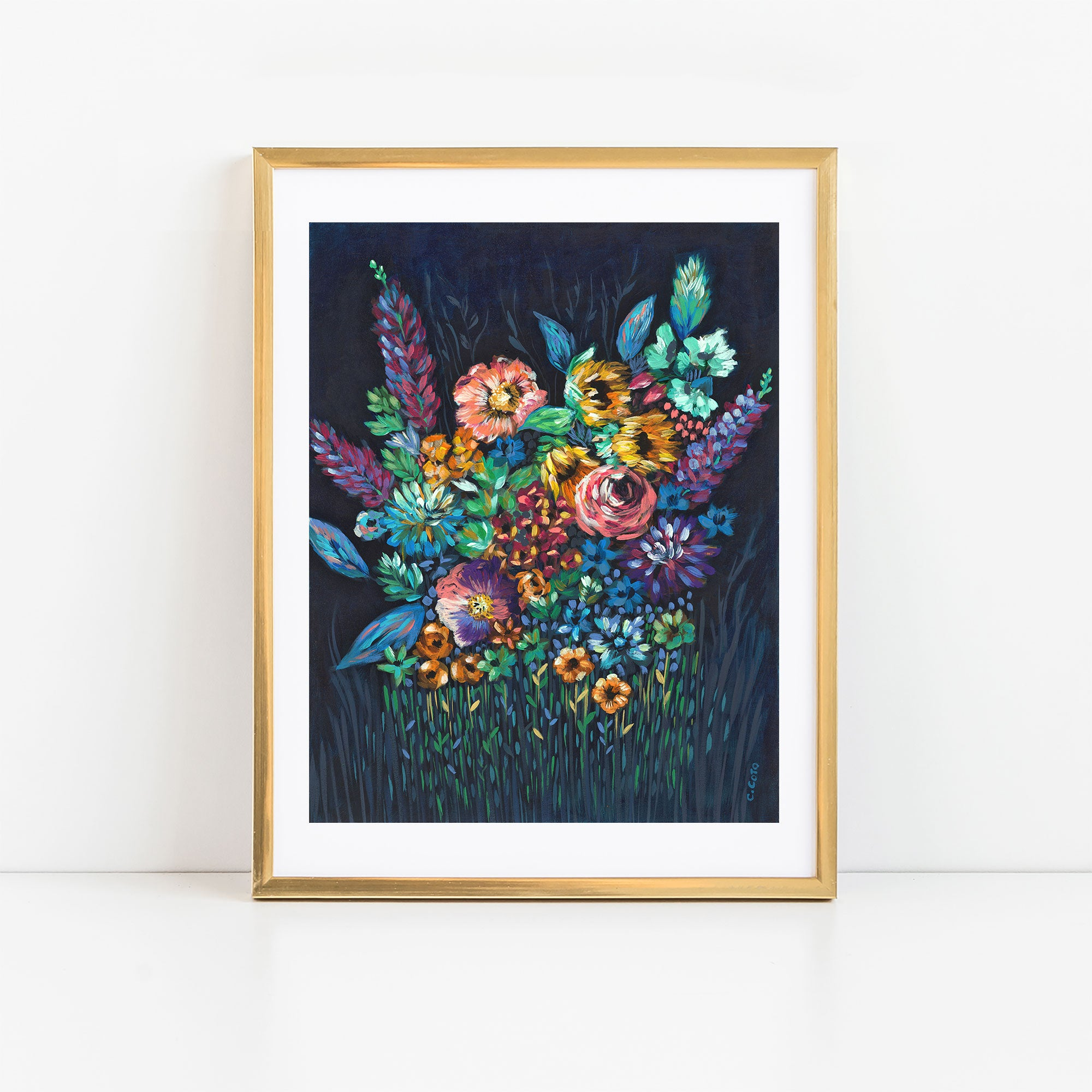 SPECIAL EDITION PRINT - Night Floral