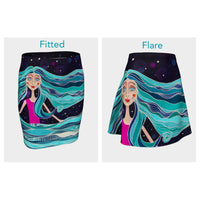 Ocean Skirt (Fitted or Flare)