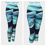 Ocean Leggings or Capris