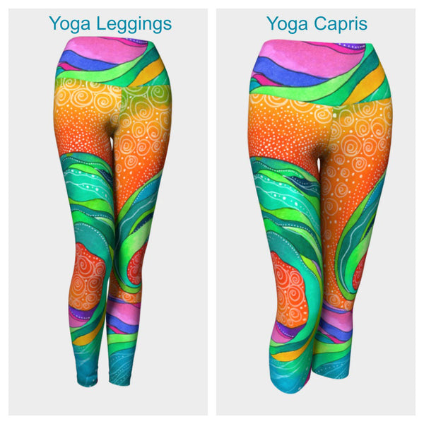 Teahupo'o Leggings or Capris