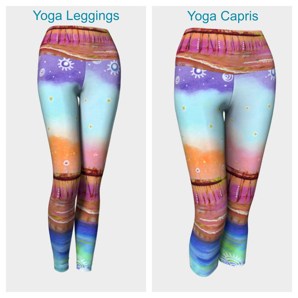 Avalon Blues Leggings or Capris