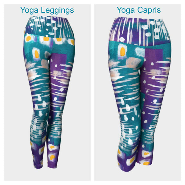 Abstract VIII Leggings or Capris