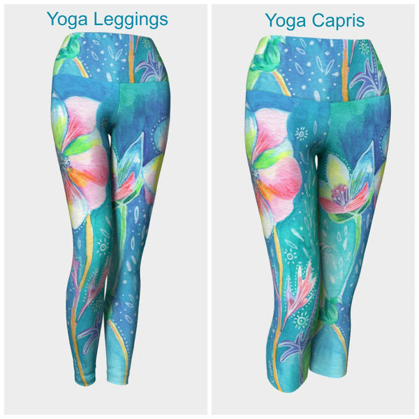 Floral II Leggings or Capris