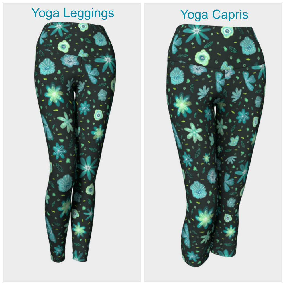 Ditsy Floral II Leggings or Capris