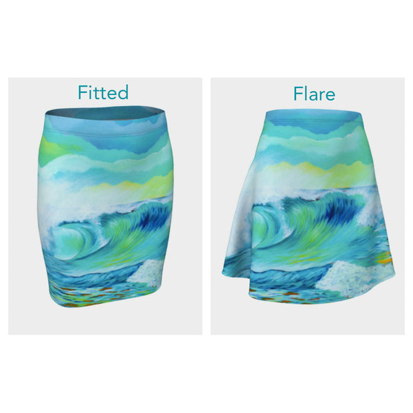 Wave 2.7 Skirt (Fitted or Flare)