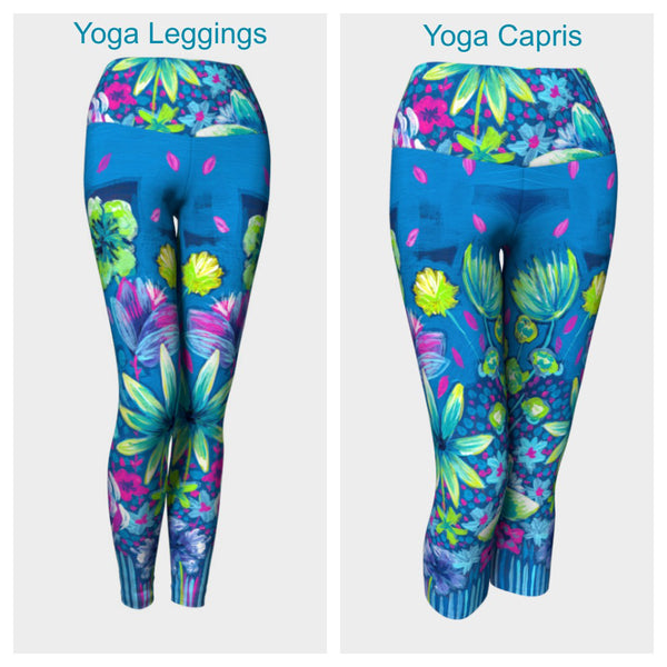 The Garden II Leggings or Capris