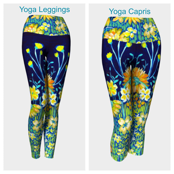 Spring Night Leggings or Capris
