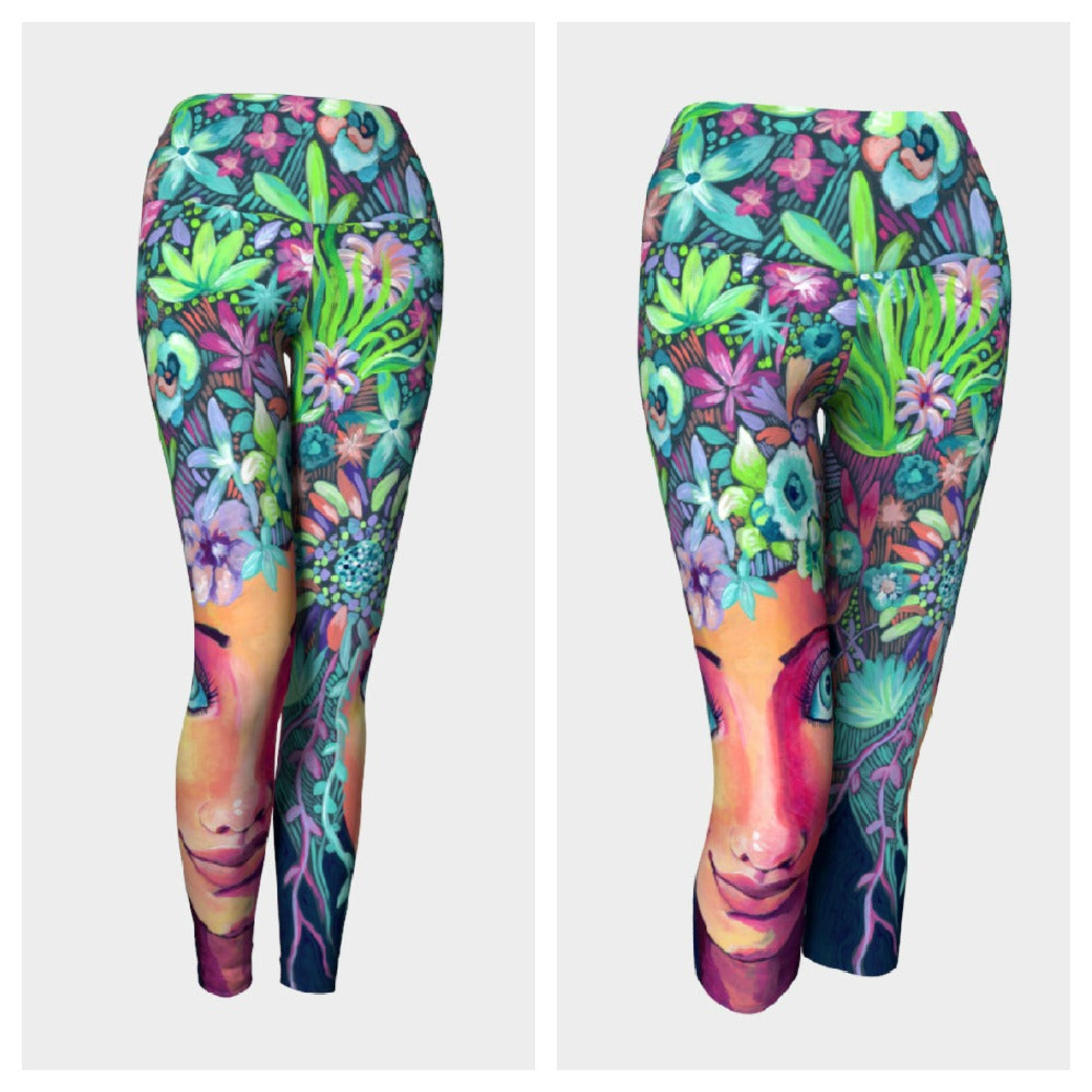 Spring Hair Leggings or Capris
