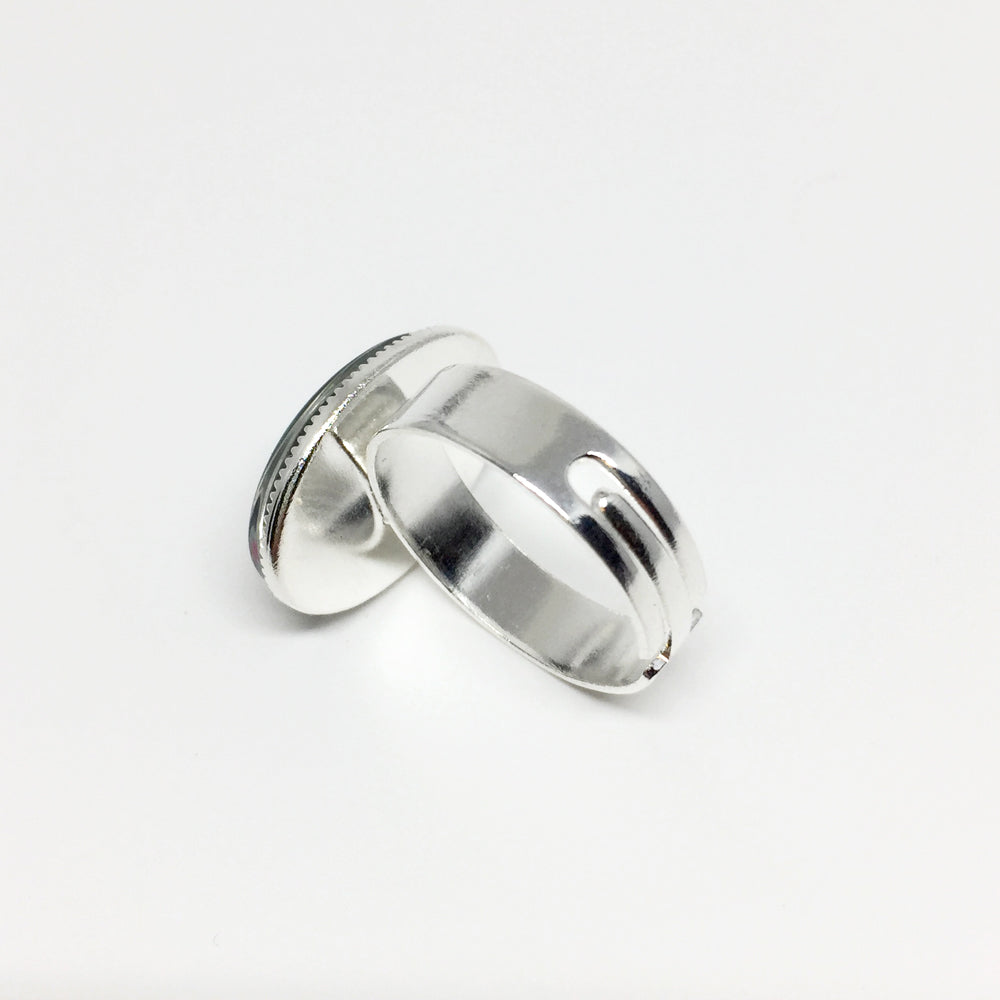 """Dawn Rider"" - Adjustable Oval Ring"