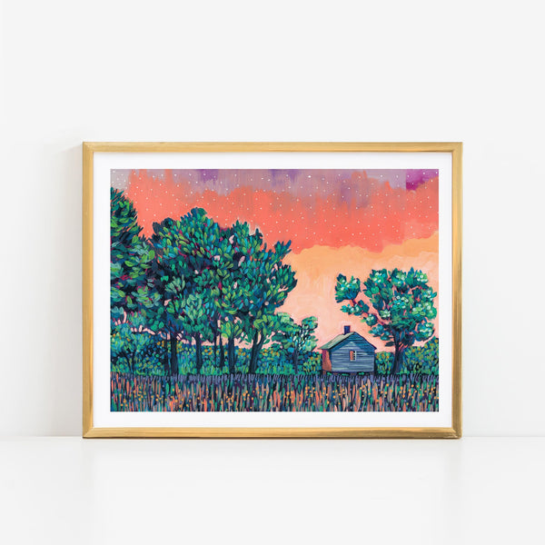 SPECIAL EDITION PRINT - Rural Sunset