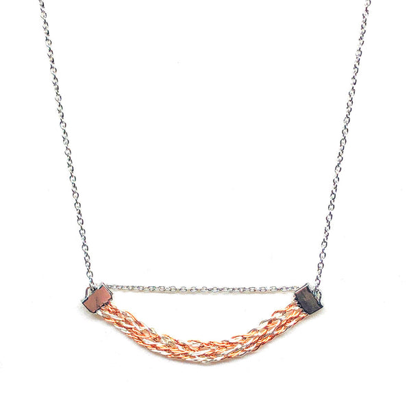 Sand Dune - Wirework Necklace