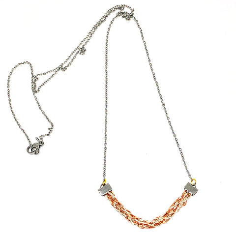 Sand Dune II - Wirework Necklace