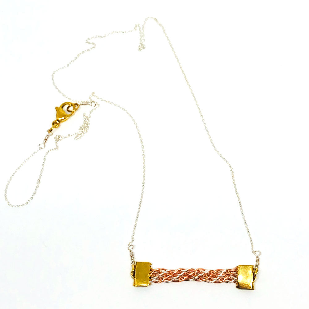 Sand Trail - Wirework Necklace