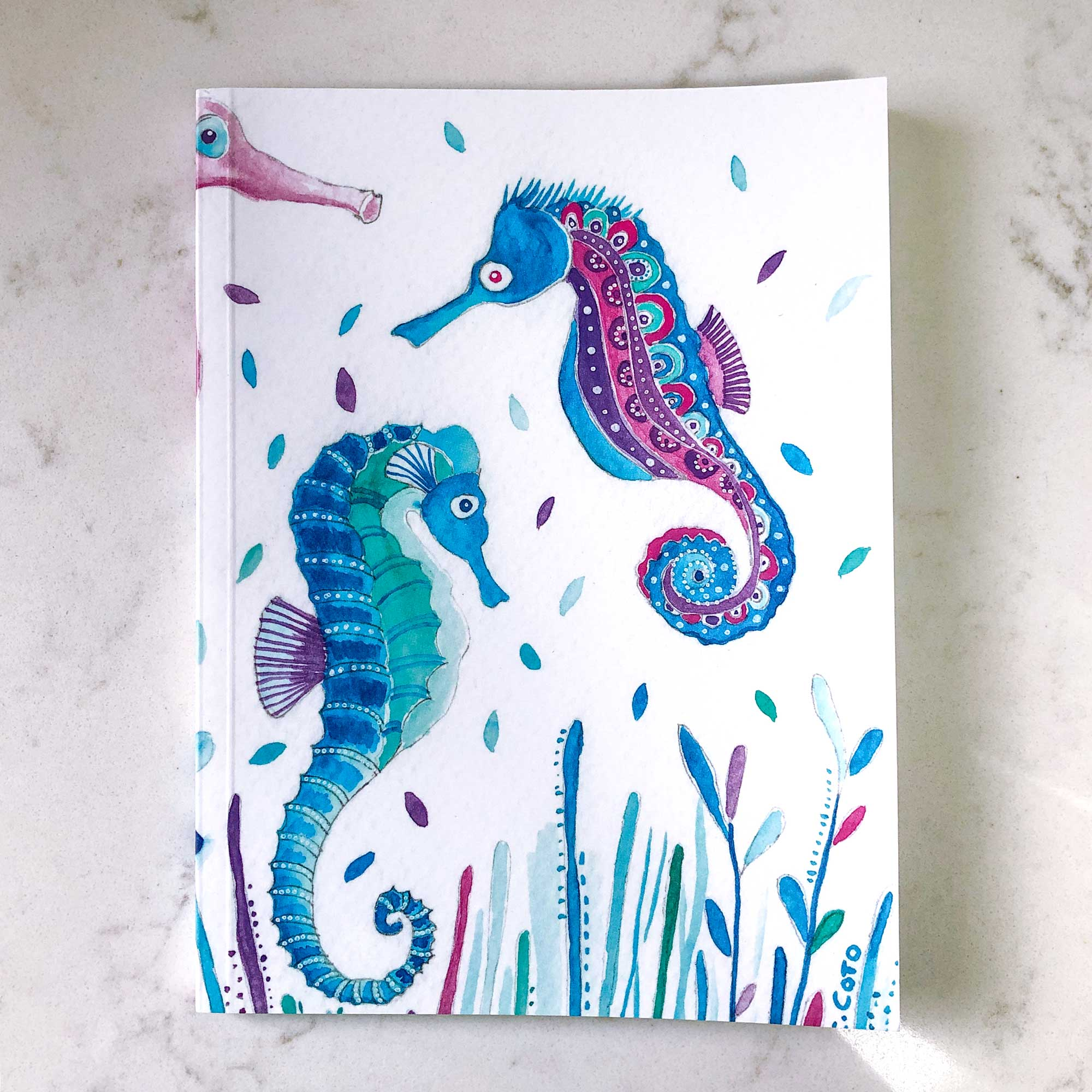 Seahorses - Notebook