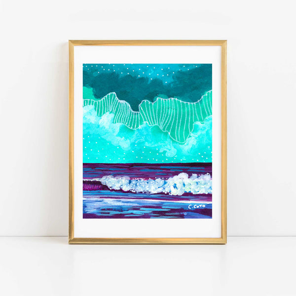 Simple Seascape XXI