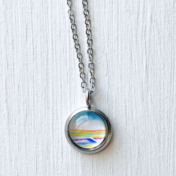 Dainty Necklace - Simple Seascape V