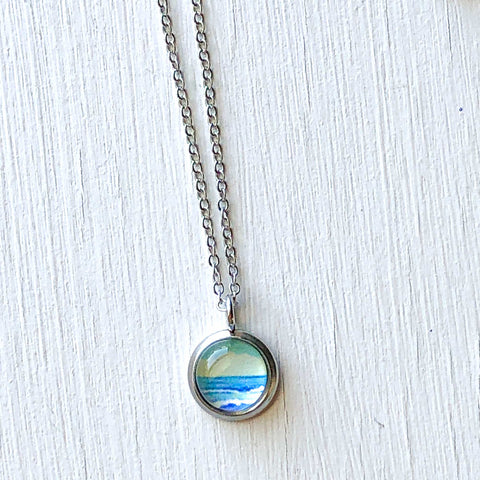 Dainty Necklace - Simple Seascape VI