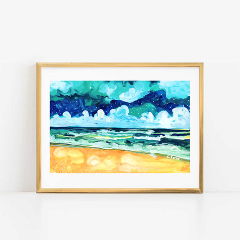 Simple Seascape X