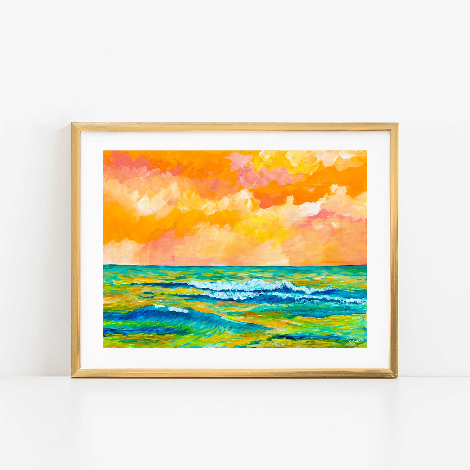 Simple Seascape XIII