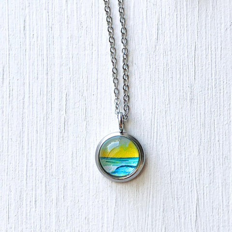 Dainty Necklace - Simple Seascape XV