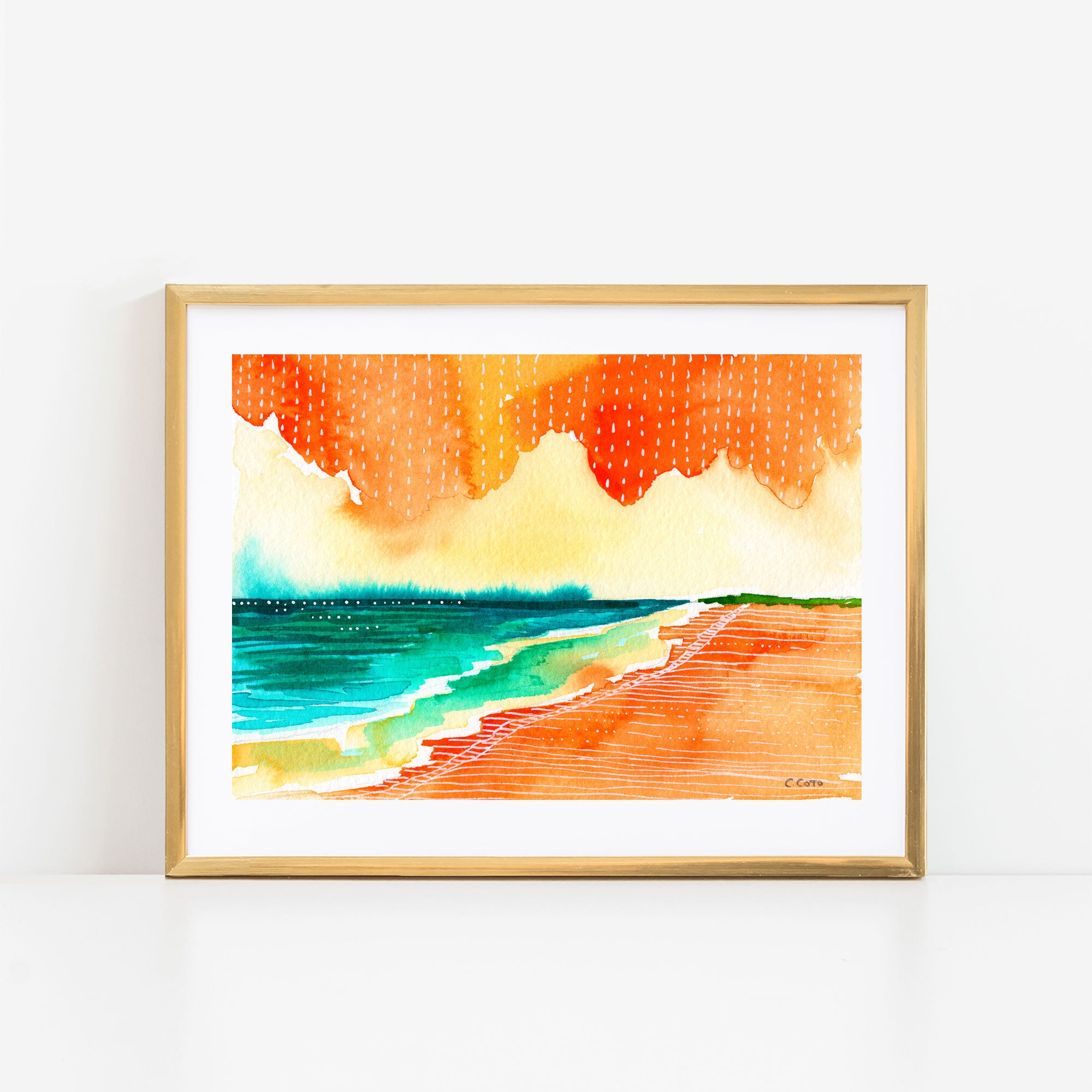 Simple Seascape XXII