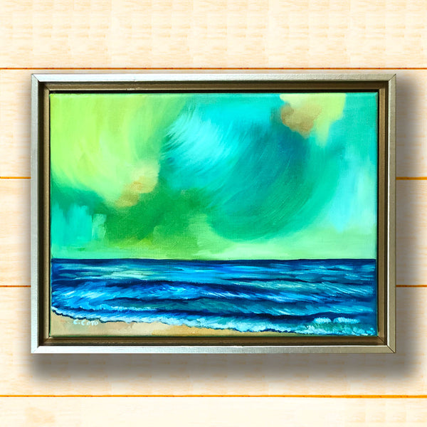 Simple Seascape XXIII - Framed
