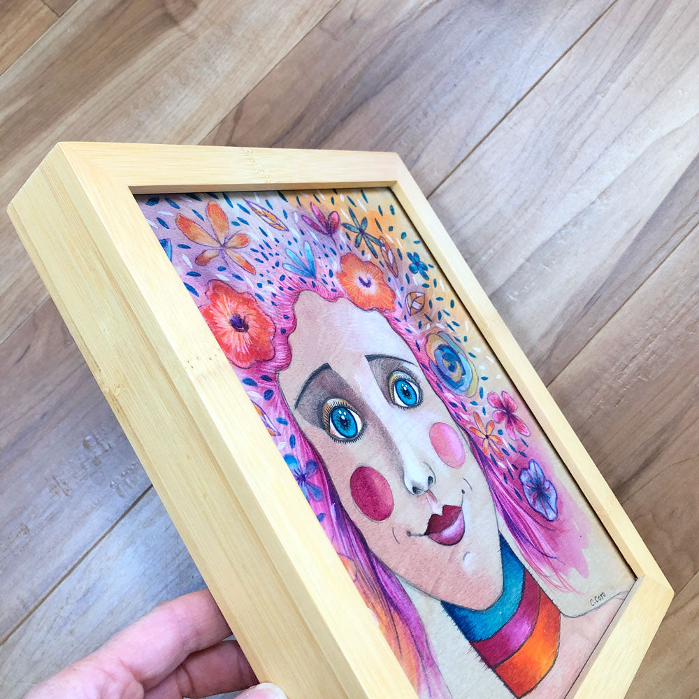 Spring Girl - Framed