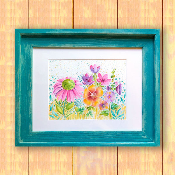 Summer Floral - Framed