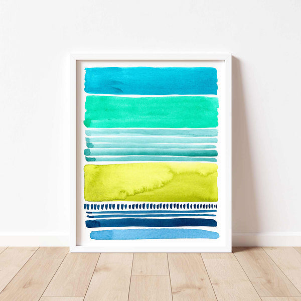 Watercolor Blocks II - Large Print