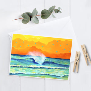 Wave 2.4 - 5x7 Notecard