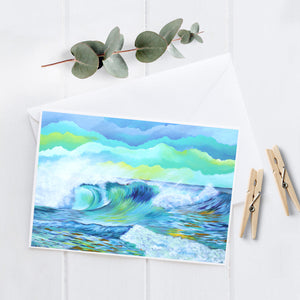 Wave 2.7 - 5x7 Notecard