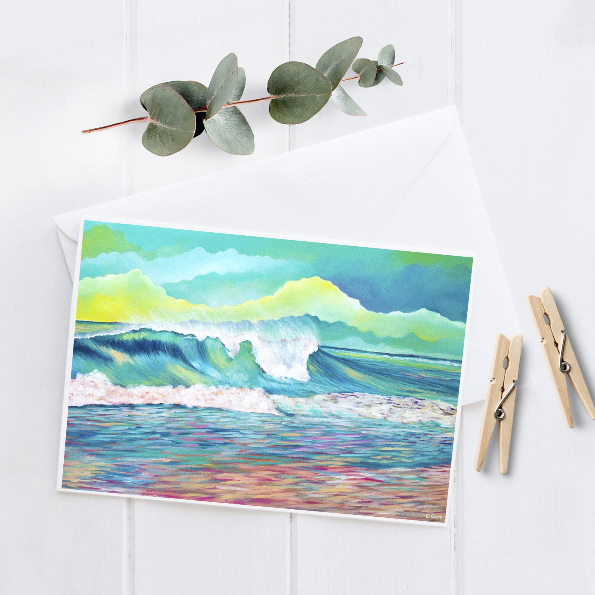 Wave 2.8 - 5x7 Notecard
