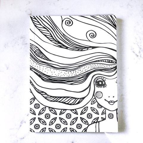 Whimsical Girl - Notebook