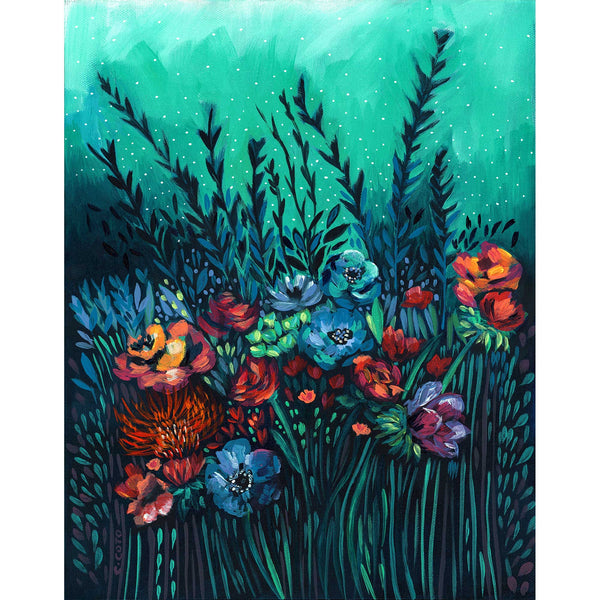 SPECIAL EDITION PRINT - Evening Floral