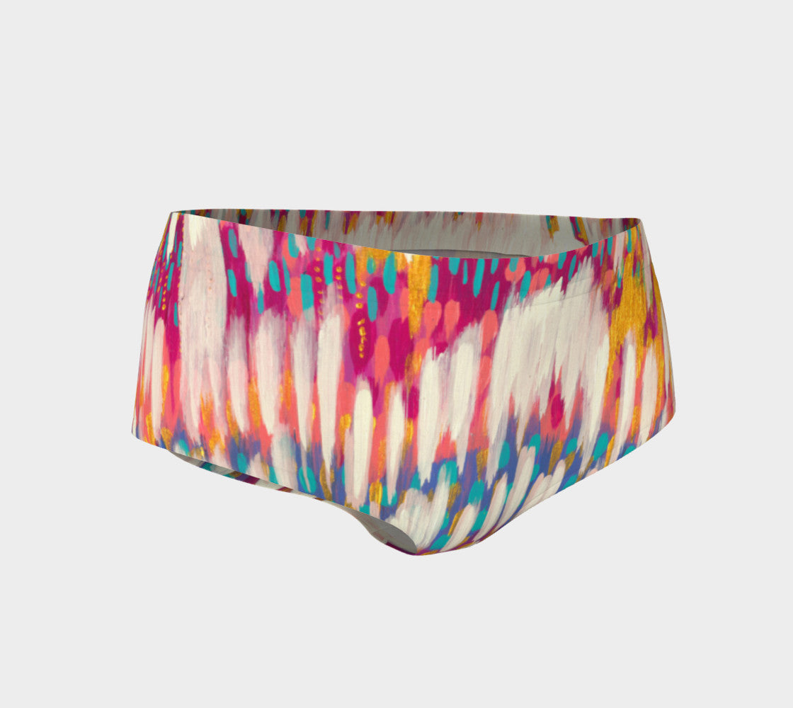April Showers Mini Shorts