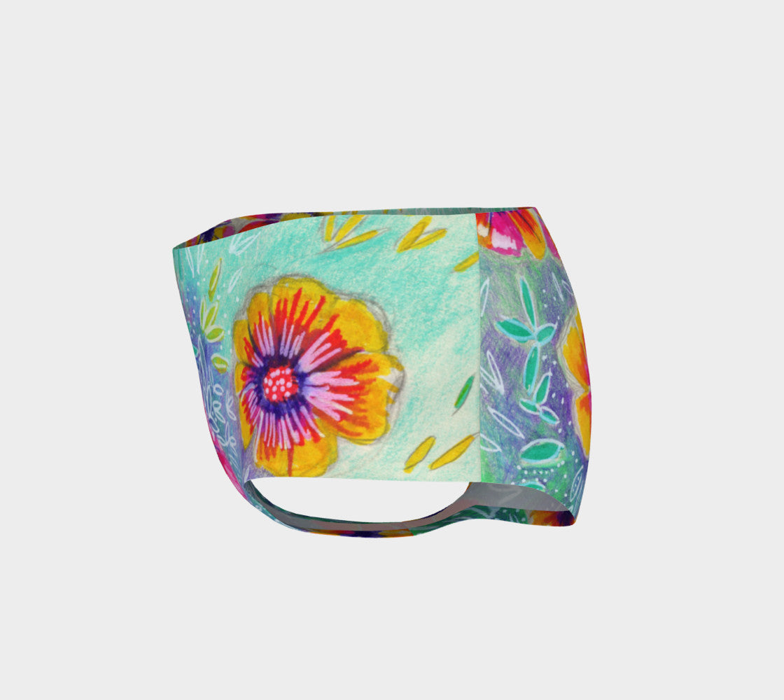 Wild Flowers Mini Shorts