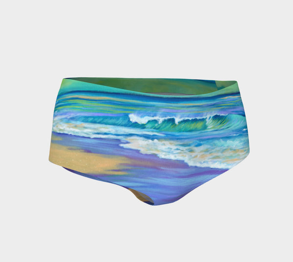 Wet Sand Mini Shorts