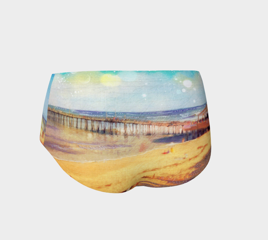 Nags Head Pier Mini Shorts