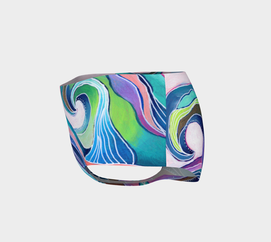 Tribal Wave II Mini Shorts