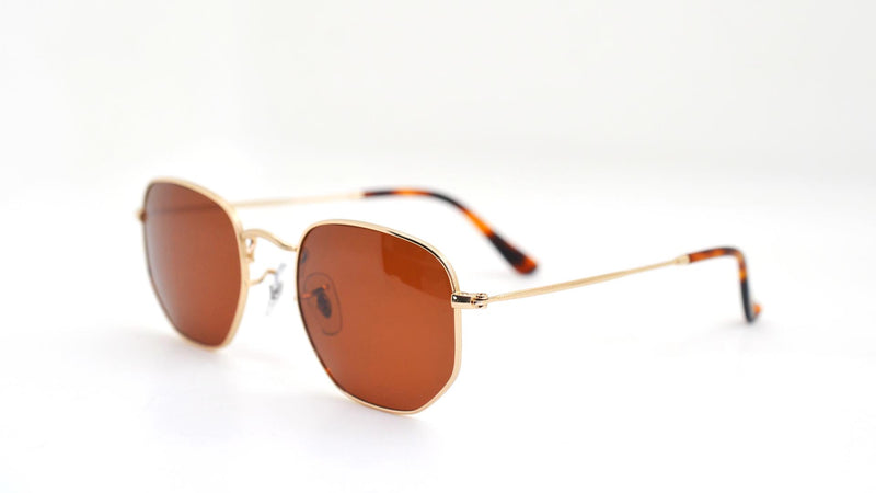 Munro | Hexagonal Sunglasses