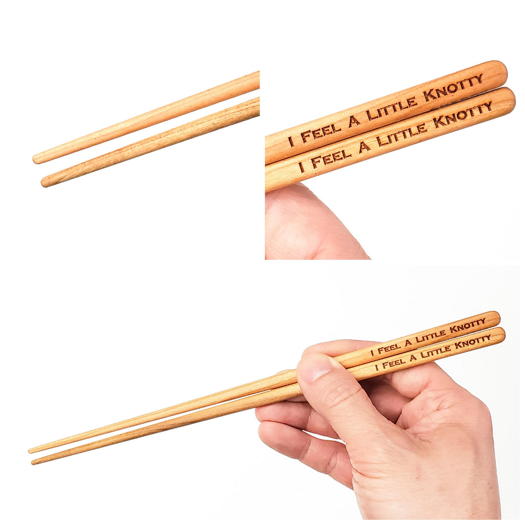 I feel a little knotty Chopsticks