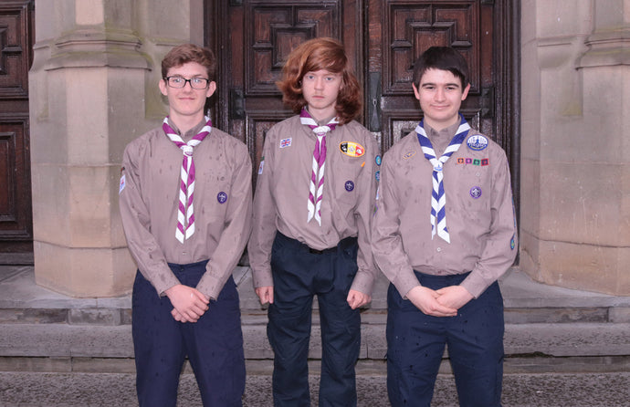 Merseyside Scouts take part in the National Scout and Guide Symphony Orchestra.