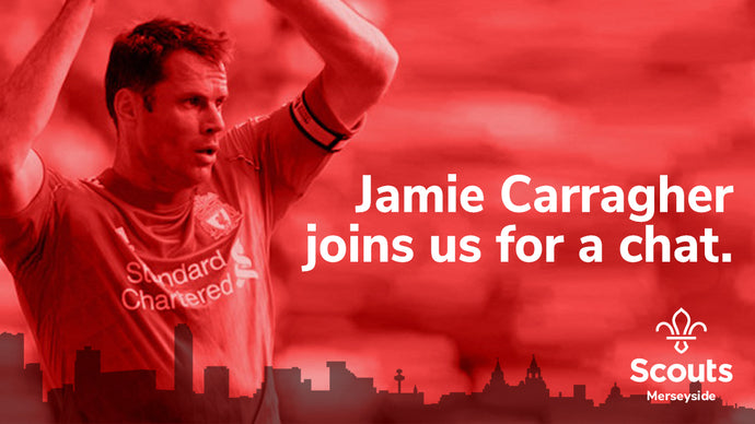 Jamie Carragher joins us for a chat.