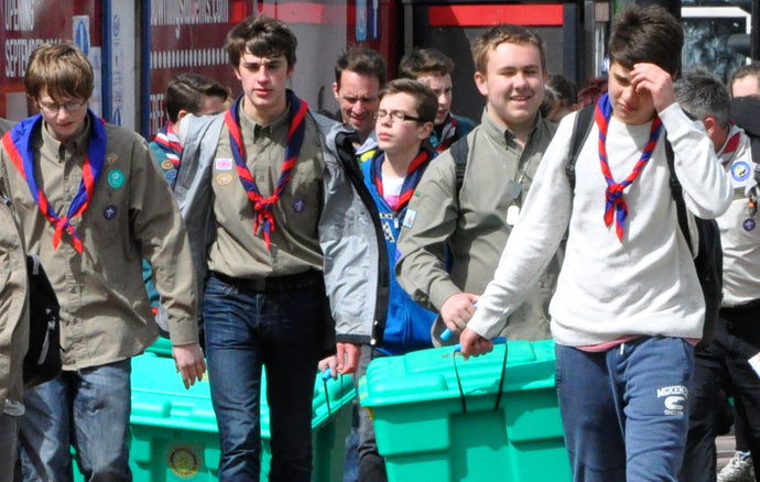 North West Scouts have raised over £18,000 for ShelterBox and the support is set to continue.
