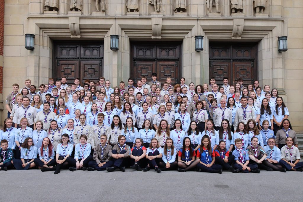 Merseyside Scouts take part in the National Scout and Guide